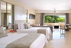 Habitación Junior Suite Doble Vista a la Piscina del Hotel Hotel Secrets Silversands Riviera Cancún