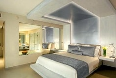 Habitación Junior Suite King Vista Parcial al Mar del Hotel Hotel Secrets Silversands Riviera Cancún