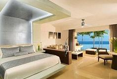 Habitación Junior Suite Ocean View Preferred Club Cama King del Hotel Hotel Secrets Silversands Riviera Cancún