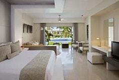Habitación Preferred Club Jr Suite King Swim Up Frente al Mar del Hotel Hotel Secrets Silversands Riviera Cancún