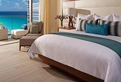 Habitación Master Suite Vista Parcial al Mar del Hotel Hotel Secrets The Vine Cancun