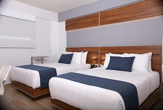 Habitación Doble del Hotel Hotel Sleep Inn Hermosillo