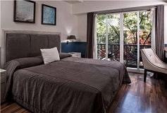 Habitación Junior Suite Doble del Hotel Hotel Suites del Ángel