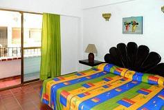 Habitación Master Suite con Balcón del Hotel Hotel Suites Plaza del Río Vallarta Centro