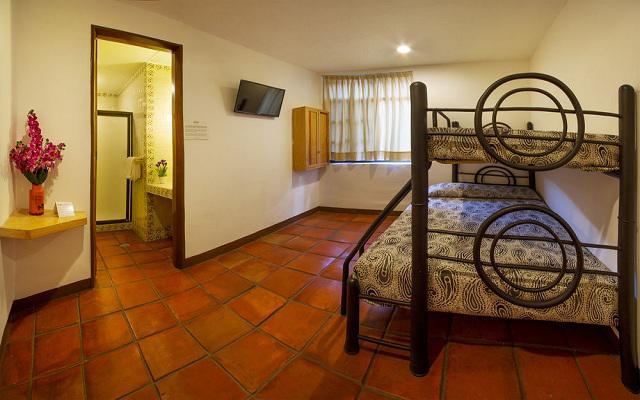 Habitación Triple del Hotel Hotel Templo Mayor