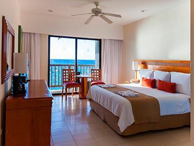 Habitación Premium Vista Parcial al Mar del Hotel Hotel The Reef Coco Beach