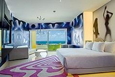 Habitación Bash Tower Vista al Mar del Hotel Hotel The Tower by Temptation Cancun