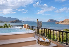 Habitación Royal Penthouse de Tres Recámaras del Hotel Hotel Villa del Palmar en las Islas de Loreto