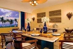 Habitación Governor Suite Butler Frente al Mar 2 Dormitorios del Hotel Hotel Zoetry Paraíso de la Bonita Riviera Maya