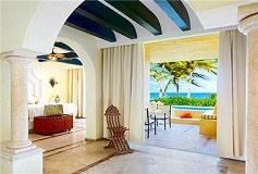Habitación Suite de Una Recámara con Piscina Privada Una Cama del Hotel Hotel Zoetry Paraíso de la Bonita Riviera Maya
