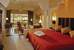 Habitación Junior Suite del Hotel Iberostar Paraíso Maya