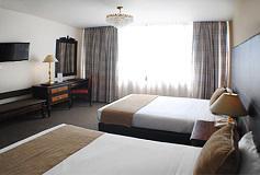 Habitación Estándar 2 Camas Matrimoniales del Hotel Hotel Imperial Reforma