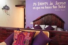Habitación Villa Me Encanta del Hotel Jungle Secrets Riviera Maya Hotel Suites Boutique