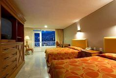 Habitación Estándar Doble Vista a la Montaña del Hotel Hotel Krystal Beach Acapulco