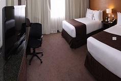 Habitación Estándar Doble del Hotel Krystal Urban Aeropuerto Ciudad de México