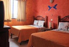 Habitación Estándar Doble del Hotel La Casona Real Cozumel