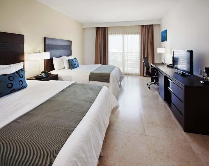 Habitación Estándar Dos Camas Queen del Hotel Hotel La Quinta By Wyndham Cancún