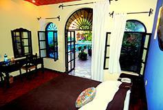 Habitación Junior Suite del Hotel La Villa del Ensueño