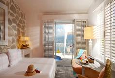 Habitación Junior Suite con alberca y vista al mar del Hotel Hotel Las Brisas Acapulco