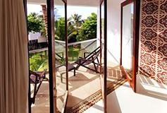 Habitación Garden View del Hotel Le Reve Hotel and Spa