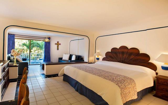Habitación Junior Suite con Cocineta del Hotel Hotel Los Arcos Suites Vallarta Centro