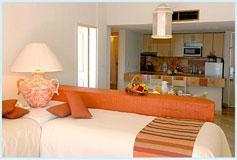 Habitación Suite de Una Recámara Vista la Mar con Cocineta del Hotel Hotel Luna Palace Mazatlán