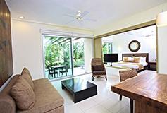 Habitación Junior Suite Jardín del Hotel Luxury Bahia Principe Sian Kaan Don Pablo Collection