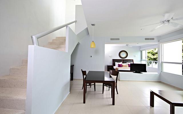 Habitación Junior Suite Penthouse del Hotel Luxury Bahia Principe Sian Kaan Don Pablo Collection