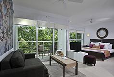 Habitación Junior Suite del Hotel Luxury Bahia Principe Sian Kaan Don Pablo Collection