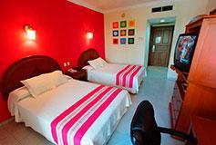 Habitación Estándar del Hotel Margaritas Cancún