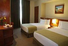 Habitación Ejecutiva Dos Camas del Hotel Meson Ejecutivo