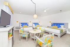 Habitación Familiar Tres Camas del Hotel Mestizo Gallery Hotel