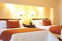 Habitación Estándar Two Beds No Reembolsable del Hotel Hotel Misión Comanjilla