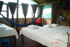 Habitación Cuádruple del Hotel Nanciyaga Reserva Ecologica