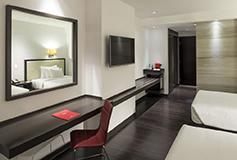Habitación Junior Suite del Hotel NH Collection Guadalajara Centro Historico
