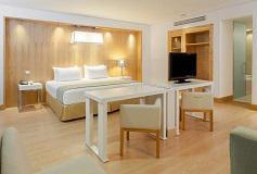 Habitación Premium Room del Hotel NH Collection México City Airport T2