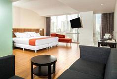 Habitación Junior Suite del Hotel NH Collection Mexico City Santa Fe