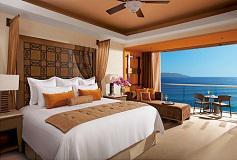 Habitación Junior Suite Vista al Mar del Hotel Now Amber Puerto Vallarta
