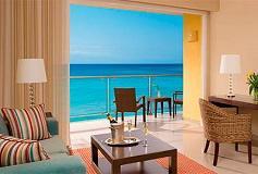 Habitación Junior Suite Doble Frente al Mar del Hotel Hotel Now Jade Riviera Cancún