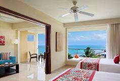Habitación Junior Suite Doble Vista al Mar del Hotel Hotel Now Jade Riviera Cancún
