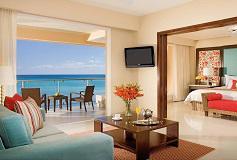 Habitación Junior Suite King Frente al Mar del Hotel Hotel Now Jade Riviera Cancún