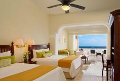Habitación Preferred Club Jr Suite Doble Frente al Mar del Hotel Hotel Now Sapphire Riviera Cancún