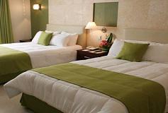 Habitación Estándar Dos Camas Matrimoniales del Hotel Ocean View