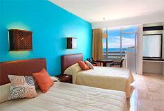 Habitación Estándar Vista al Mar Lunamielera del Hotel Hotel Océano Palace Mazatlán