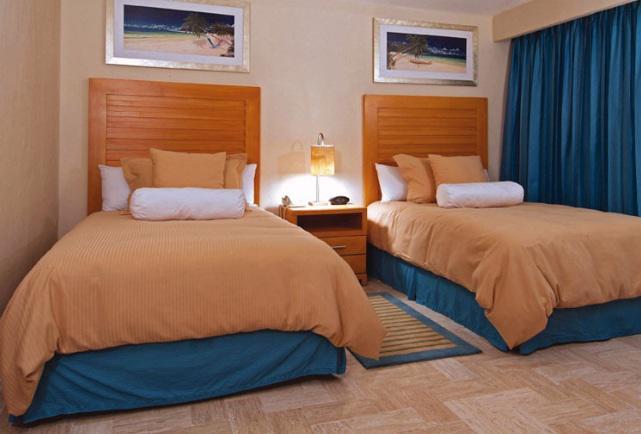 Habitación De lujo Vista a la Laguna del Hotel Omni Cancun Hotel y Villas