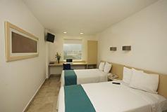 Habitación Estándar Twin del Hotel One Coatzacoalcos Forum