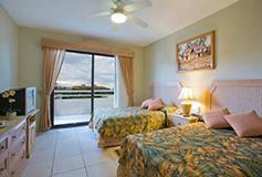 Habitación Estándar Suite 2 Recámaras con Balcón y Cocineta del Hotel Paradise Village Beach Resort and Spa