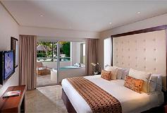 Habitación Master Suite Una Recámara Acceso Directo a Piscina del Hotel Hotel Paradisus Playa del Carmen La Esmeralda by Melia