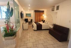 Habitación Suite del Hotel Plaza Caribe