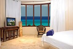 Habitación Penthouse Tres Recámaras del Hotel Porto Playa Condo Hotel and Beach Club